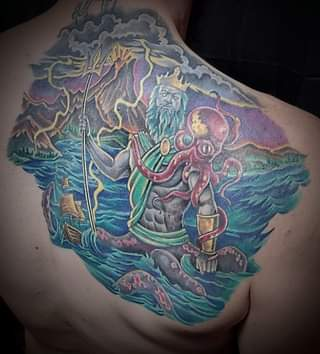 Healed picture of this poseidon piece by John