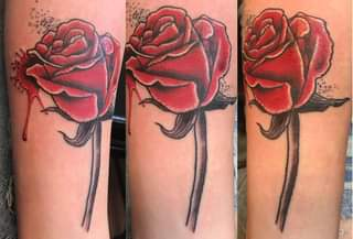 From Ghost: Fun lil rose from today