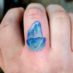 Fun knuckle tattoo
