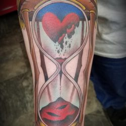 Start to a sleeve