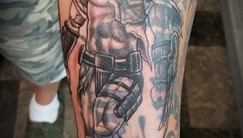 Really excited about this half sleeve, xenomorph is healed and a good start to t…