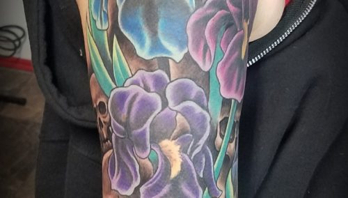 Finished this half sleeve