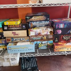Board game night tonight. Come enjoy a game you know or learn something you dont…