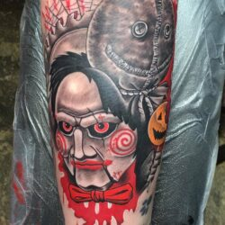 A cool horror piece by John from today